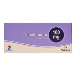 Trimethoprim 100mg For Cystitis Prevention 28 Tablets