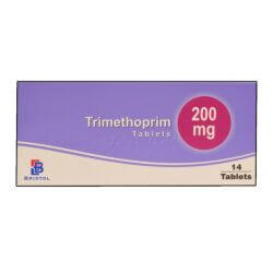Trimethoprim 200mg For Cystitis Treatment 6 Tablets