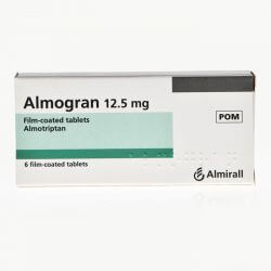 Almogran (Almotriptan) 12.5mg 6 Tablet