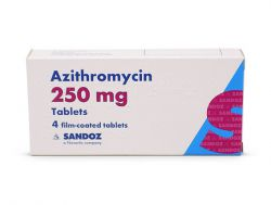 Azithromycin 250mg for Ureaplasma and Mycoplasma 6 tablets