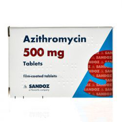Azithromycin 500mg For Chlamydia 1g Single Dose 2 Tablets