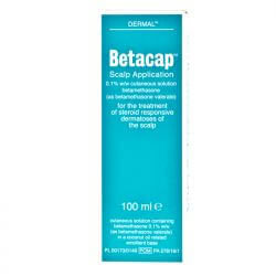 Betacap (Betamethasone) Scalp Application 0.1% 100ml