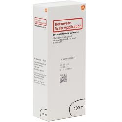Betnovate (Betamethasone) Scalp Application 0.122% 100ml
