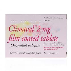 Climaval (Estradiol) 2mg Tablets 28