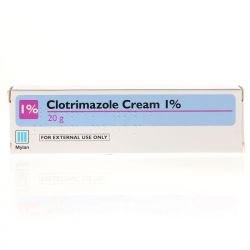 Clotrimazole 1% Cream 20g