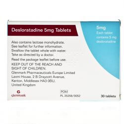 Desloratadine 5mg 30 Tablets
