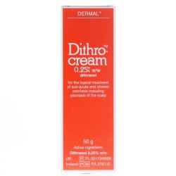 Dithrocream 0.25% 50g (DITHRANOL)