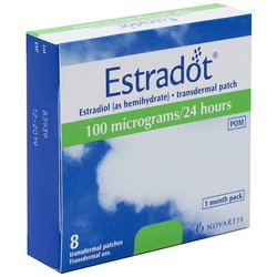 Estradot (Estradiol) 100mcg Patches 8