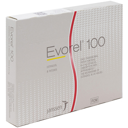 Evorel (Estradiol) 100mcg Patches 8