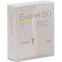 Evorel (Estradiol) 50mcg 24 Patches