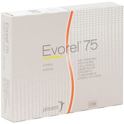 Evorel (Estradiol) 75mcg Patches 8