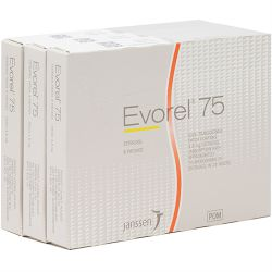 Evorel (Estradiol) 75mcg 24 Patches