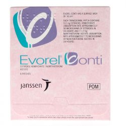 Evorel Conti (Estradiol/Norethisterone) Patches 8