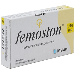 Femoston (Estradiol/Dydrogesterone) 1/10mg 84 Tablets