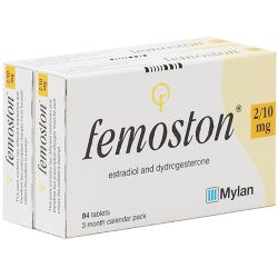 Femoston (Estradiol/Dydrogesterone) 2/10mg 168 Tablets