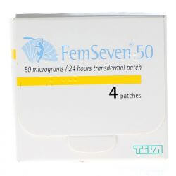Femseven (Estradiol) 50mcg Patches 4