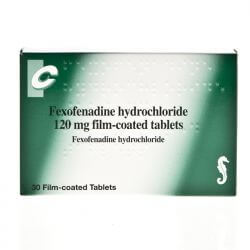 Fexofenadine 120mg 30 Tablets