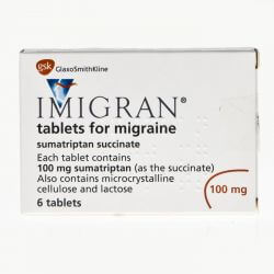 Imigran (Sumatriptan) 100mg 6 Tablets