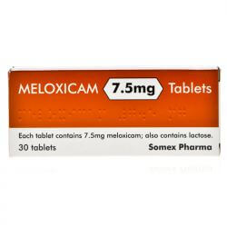Meloxicam 7.5mg 30 Tablets