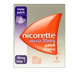 Nicorette Invisi 25mg 7 Patches