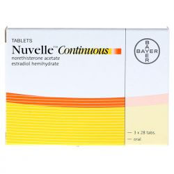 Nuvelle Continuous (Estradiol/Norethisterone) 2mg  84 Tabs