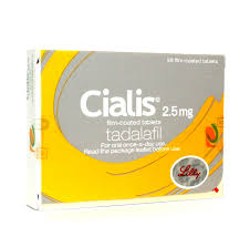 Cialis (Tadalafil) 2.5mg 28 Tablets