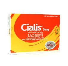 Cialis (Tadalafil) 5mg 28 Tablets
