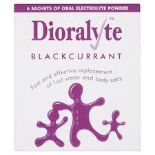 Dioralyte Blackcurrent 6 Sachets