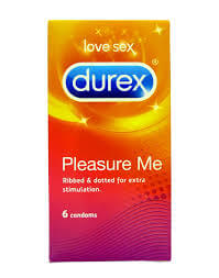 Durex Pleasure Me 6 Condoms