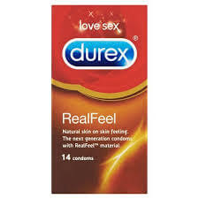 Durex Real Feel 14 Condoms