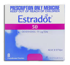 Estradot (Estradiol) 50mcg 8 Patches