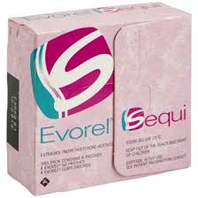 Evorel Sequi (Estradiol/Norethisterone) 8 Patches