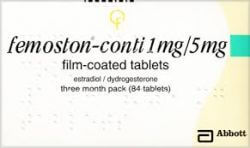 Femoston Conti 1mg 84 Tablets