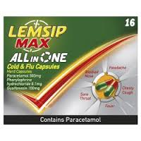 Lemsip Max All In One Caps 16's