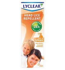 Lyclear Headlice Repellent Spray 100ml
