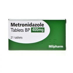 Metronidazole 400mg For Bacterial Vaginosis 14 Tablets