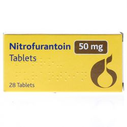 Nitrofurantoin 50mg 28 Tablets