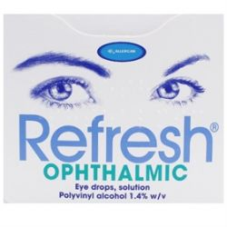Refresh Ophthalmic Lubricating Comfort Eye Drops
