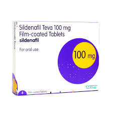 Sildenafil 100mg 4 Tablets