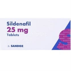 Sildenafil (Sandoz) 25mg 64 Tablets