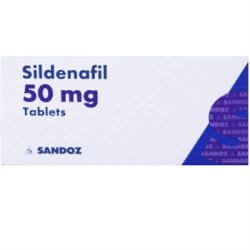 Sildenafil (Sandoz) 50mg 8 Tablets