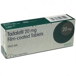 Tadalafil 20mg 4 tablets