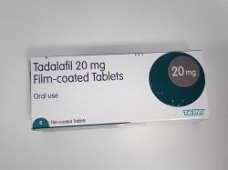 Tadalafil 20mg 8 Tablets