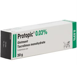 Protopic Ointment 0.03% 30g for psoriasis