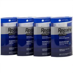 Regaine For Men Extra Strength Foam 1 Year Supply 4 x Triple Packs