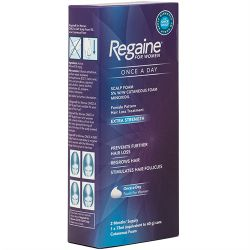 Regaine for Women Once a Day Foam 2 Months's Supply