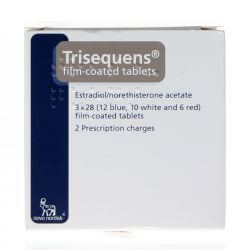 Trisequens (Estradiol/Norethisterone) Tablets 84