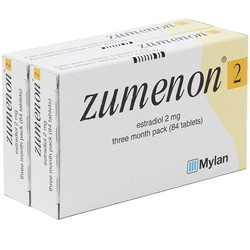 Zumenon (Estradiol) 2mg 168 Tablets