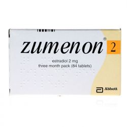 Zumenon (Estradiol) 2mg 84 Tablets