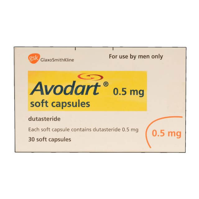 Avodart for treating hair loss